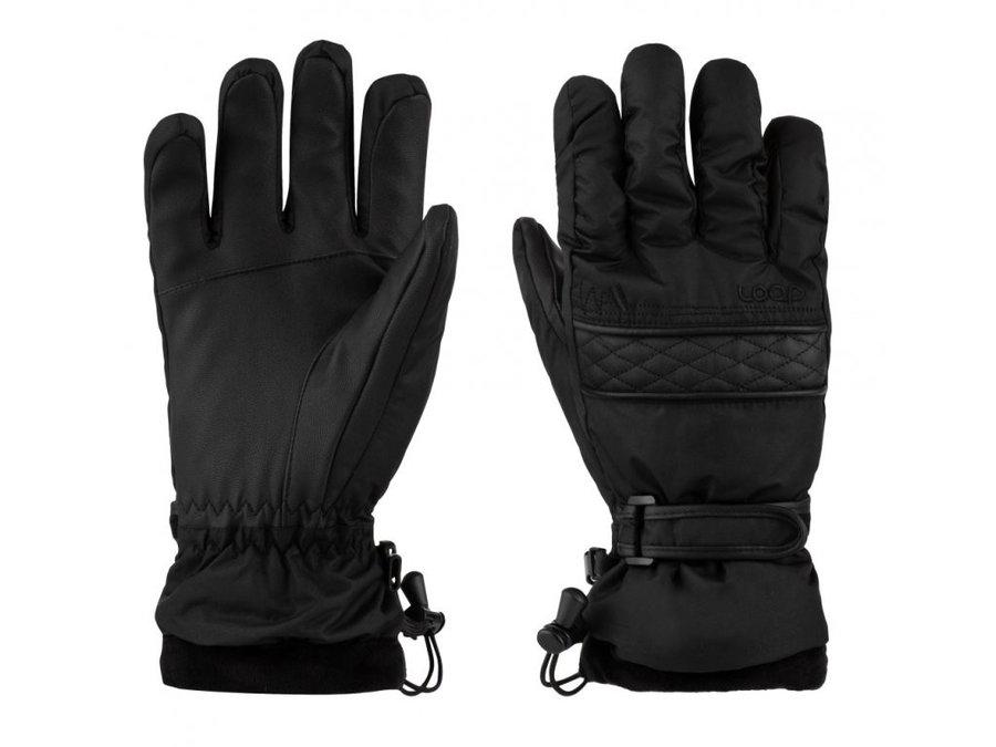 Černé dámské lyžařské rukavice Loap - velikost S