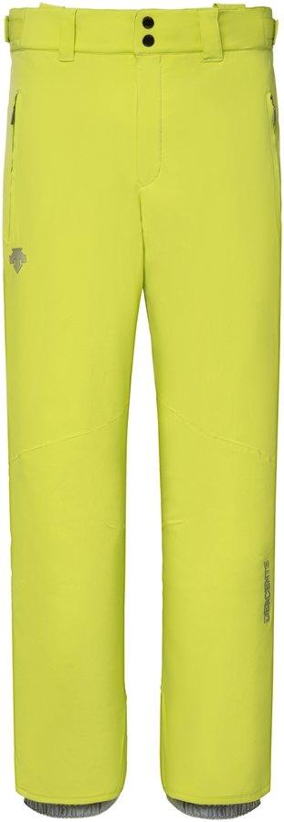 Žluté pánské lyžařské kalhoty Descente - velikost 54