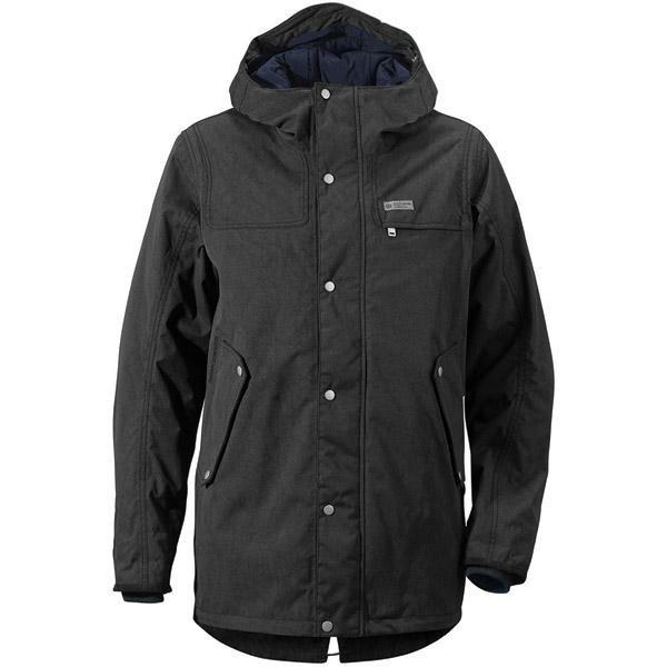 Černá zimní pánská bunda s kapucí Didriksons1913 - velikost S