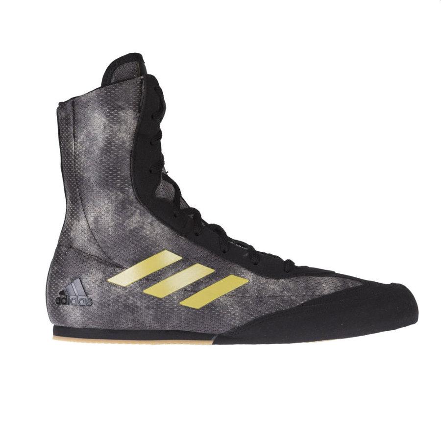 Černé boxerské boty Bog Hog Plus, Adidas