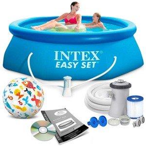 Nafukovací nadzemní kruhový bazén INTEX - průměr 305 cm a výška 76 cm