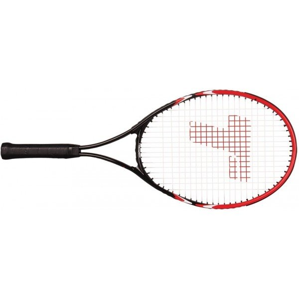 Černo-červená tenisová raketa Tregare