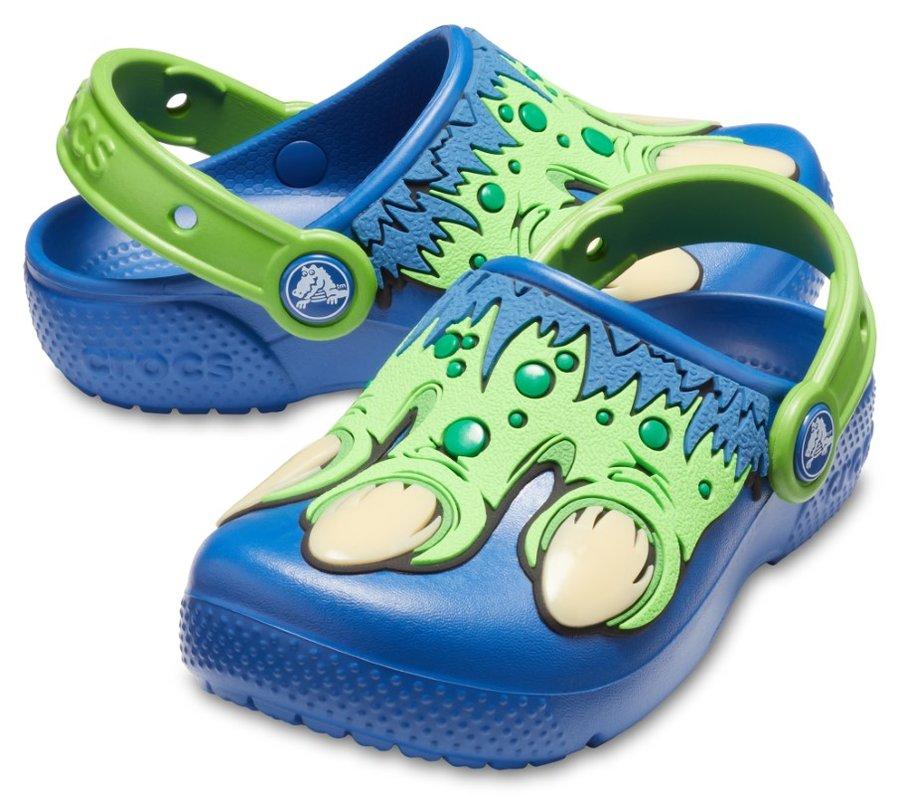 Modré chlapecké pantofle Crocs - velikost 23-24 EU