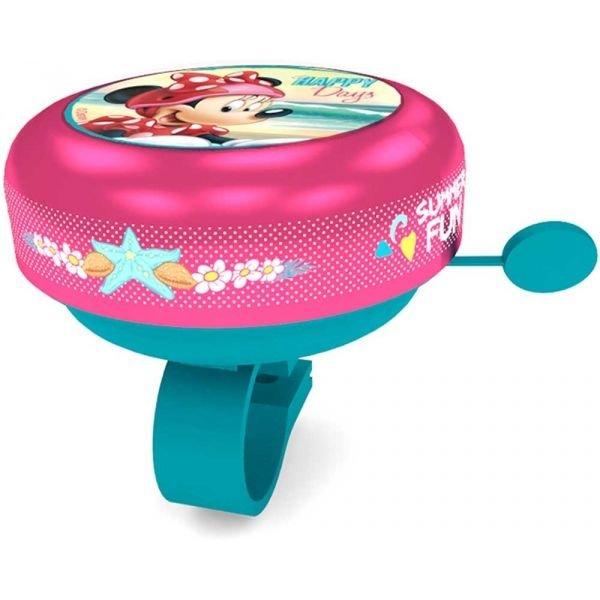 """Růžový dětský zvonek na kolo """"Frozen"""", Disney Brand"""