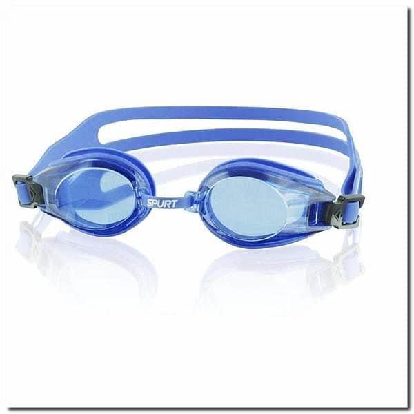 Modré plavecké brýle 300 AF 12, SPURT