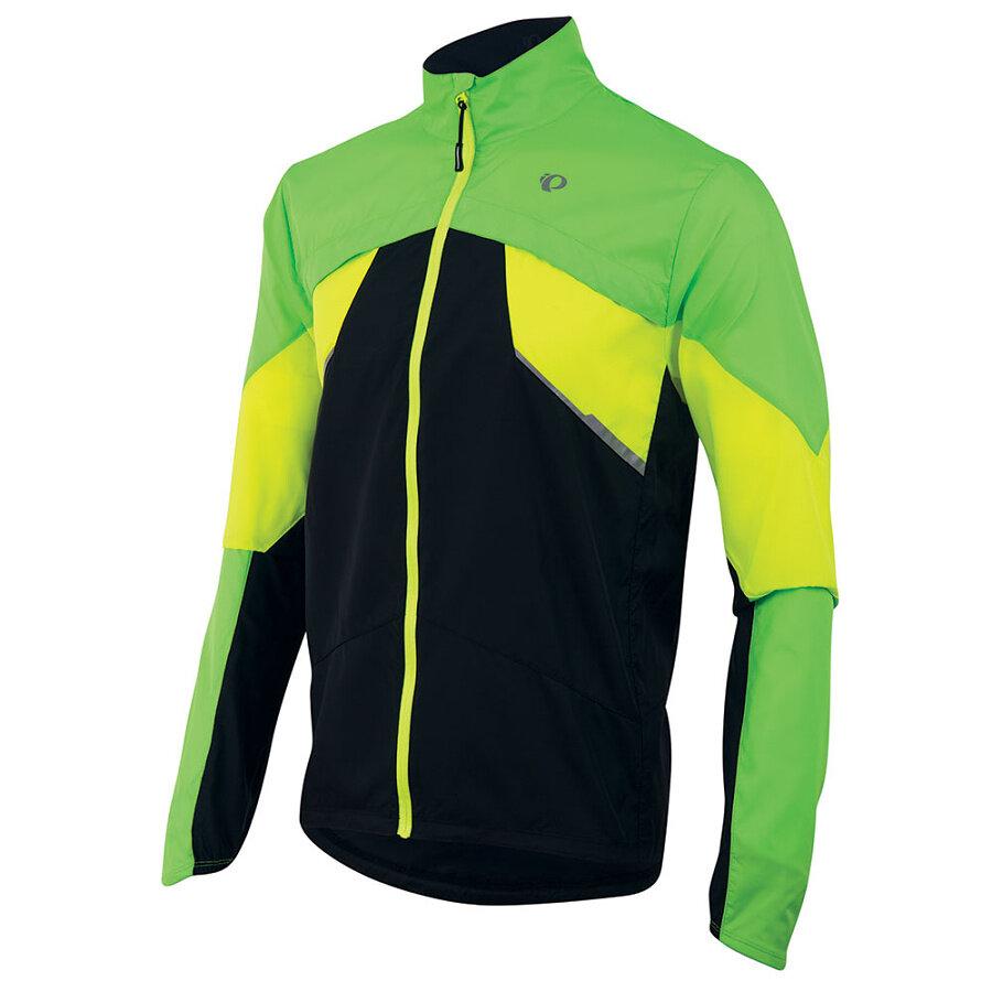 Běžecká bunda - Pearl izumi FLY - zeleno/žluto/černá Varianta: M