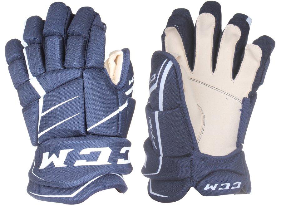"""Modré hokejové rukavice Jetspeed FT350, CCM - velikost 13"""""""