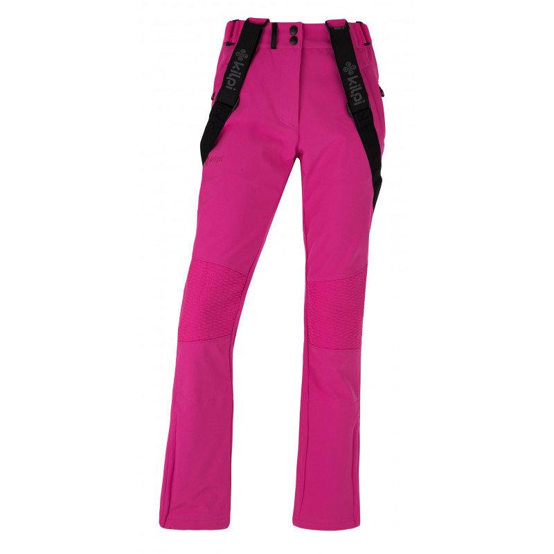 Růžové dámské lyžařské kalhoty Kilpi - velikost 34