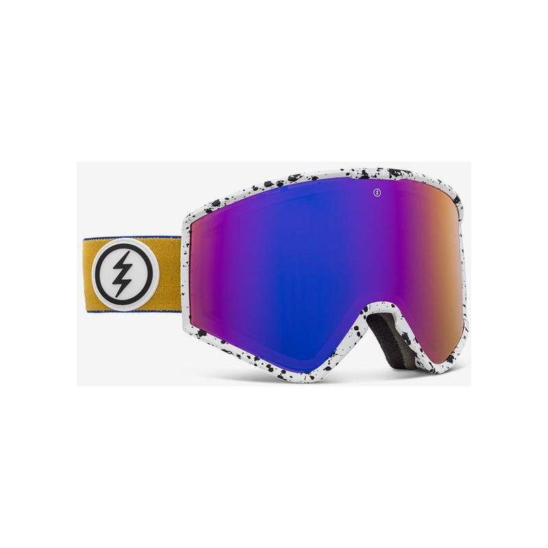 Žluté brýle na snowboard Electric