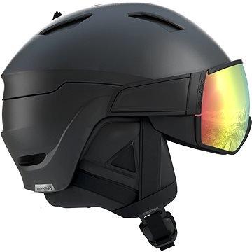 Černá dámská lyžařská helma Salomon - velikost 59-62 cm