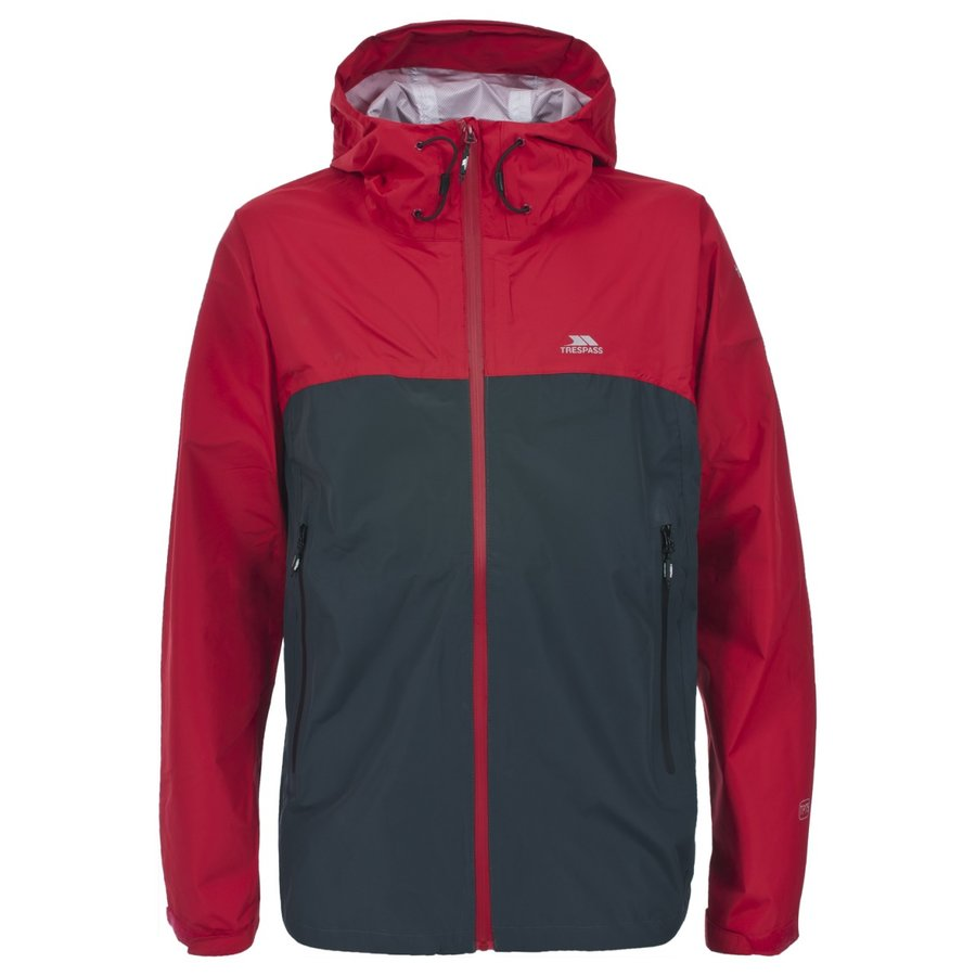 Červená nepromokavá pánská bunda Trespass - velikost XXL