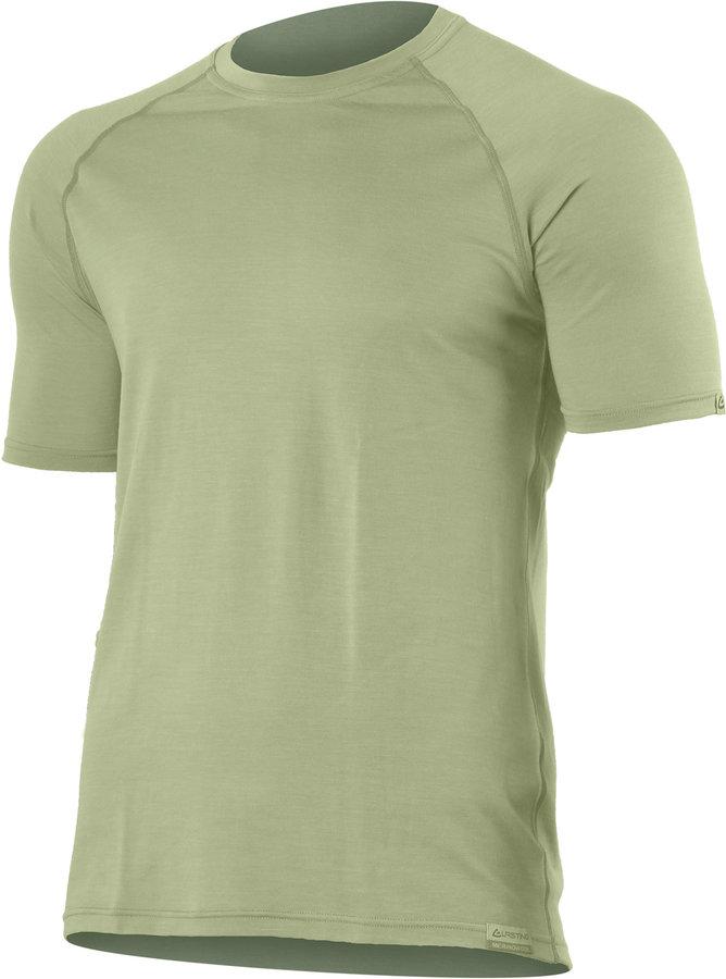 Zelené pánské tričko s krátkým rukávem Lasting - velikost 3XL
