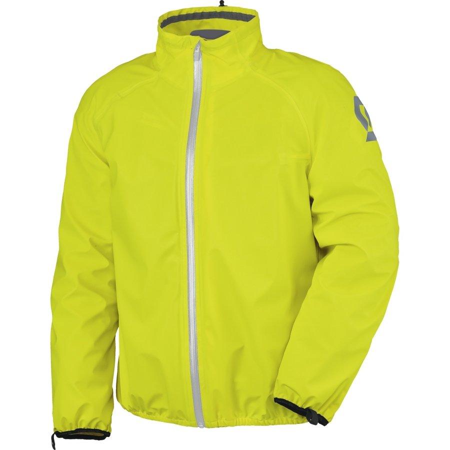 Žlutá pláštěnka na motorku Scott