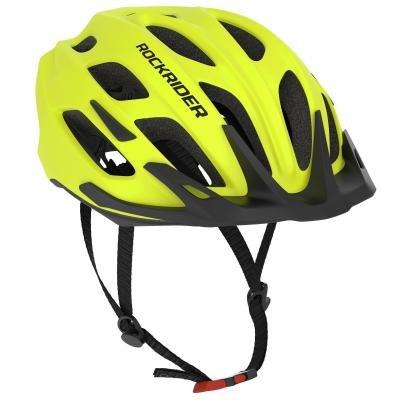 Žlutá cyklistická helma RockRider
