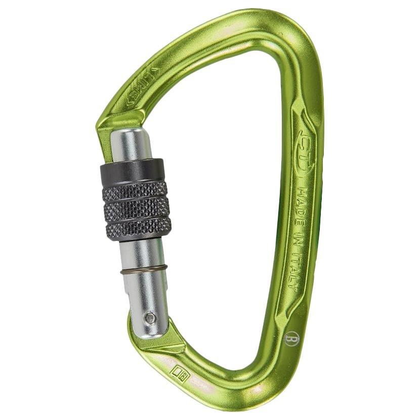 Zelená horolezecká karabina Climbing Technology
