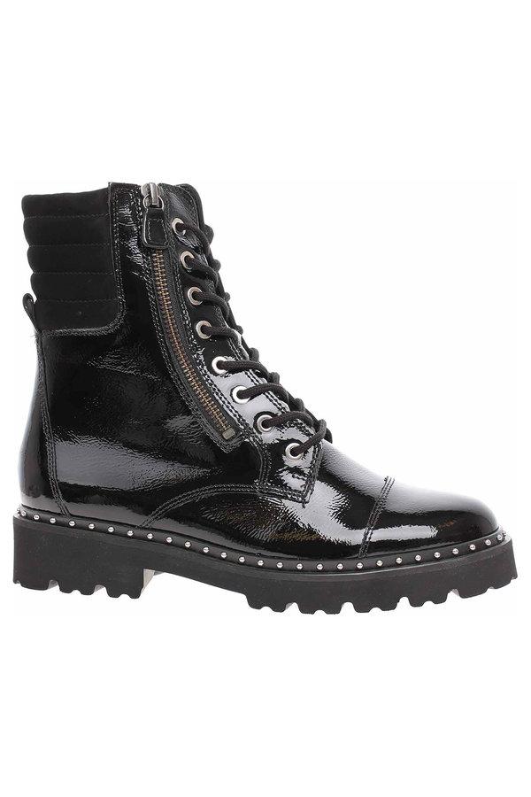 Černé dámské kotníkové boty Gabor - velikost 37 EU