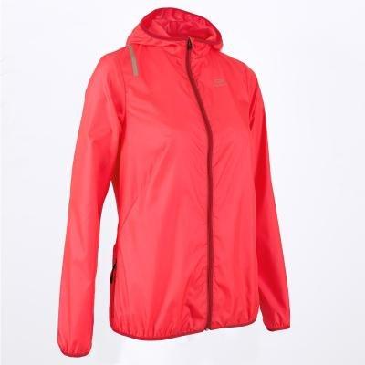 Růžová běžecká bunda Wind, Kalenji