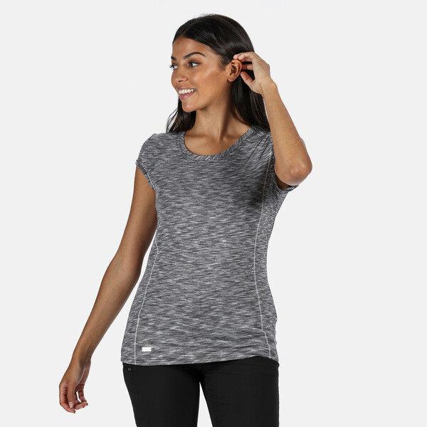 Šedé dámské tričko s krátkým rukávem Regatta