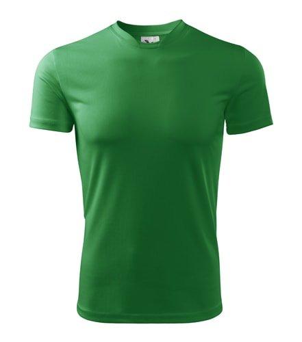 Zelené pánské tričko s krátkým rukávem Adler - velikost L
