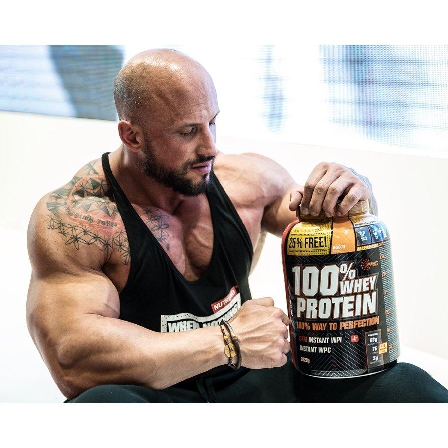 Syrovátkový protein 100% WHEY Protein, Nutrend - 2250 g
