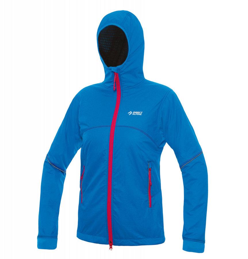 Modrá dámská bunda na běžky s kapucí Direct Alpine - velikost S