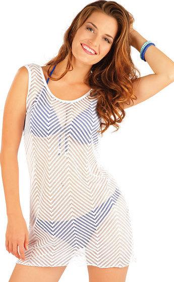 Bílé dámské šaty Litex