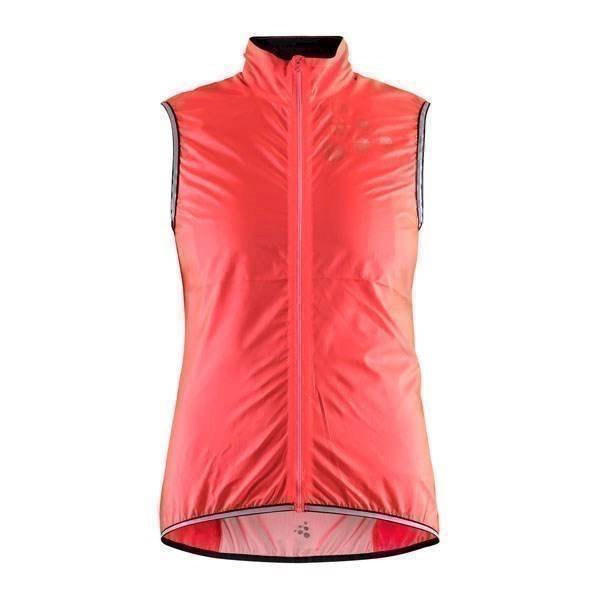 Růžová dámská jezdecká vesta Lithe, Craft - velikost L