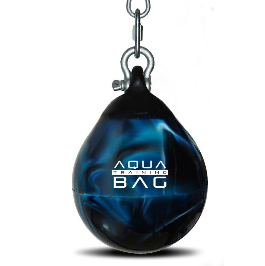 Modrý vodní boxovací pytel Aqua Training Bag - 16 kg