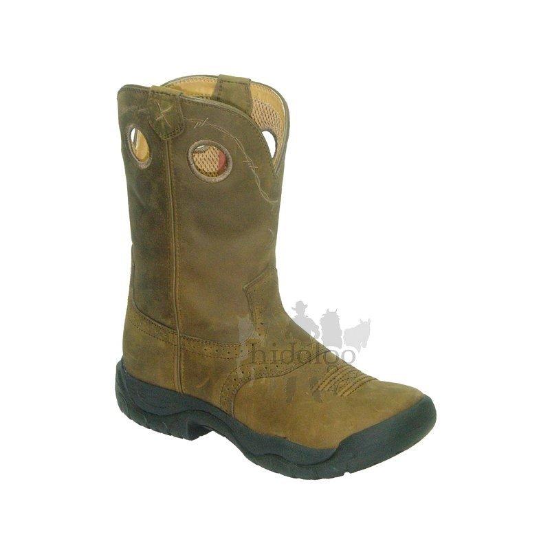 Černé dámské jezdecké boty Twisted Boots