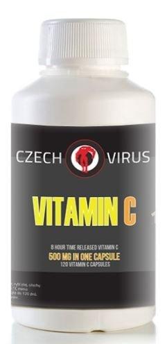 Vitamín C - Czech Virus VITAMIN C 120 kapslí