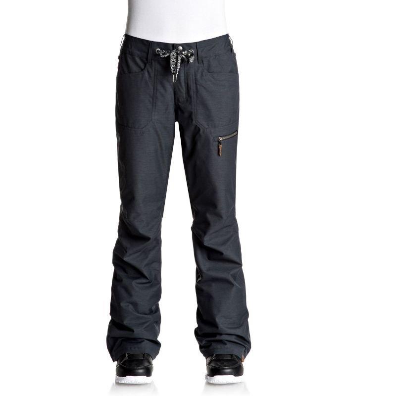 Černé dámské snowboardové kalhoty Roxy
