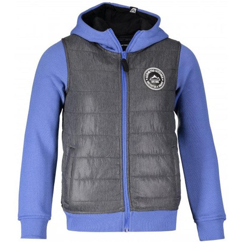 Modro-šedá dětská mikina Alpine Pro