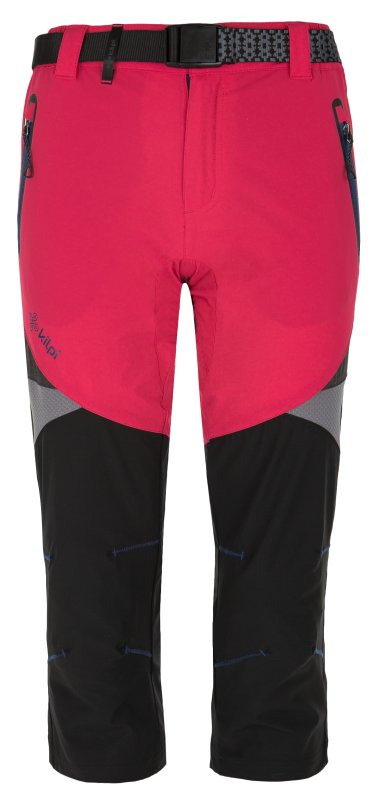Černo-růžové dámské kalhoty Kilpi