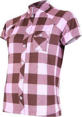 Růžový dámský cyklistický dres Sensor