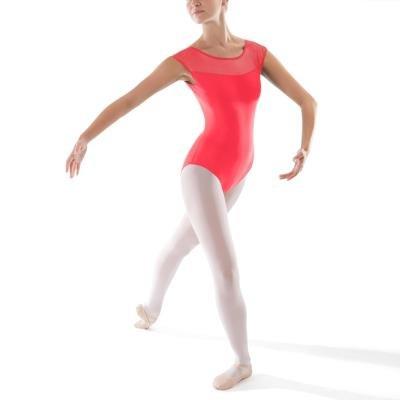 Růžový dámský baletní trikot Domyos