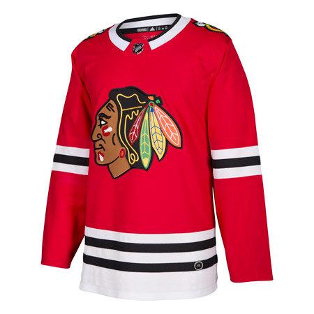Červený hokejový dres Adidas