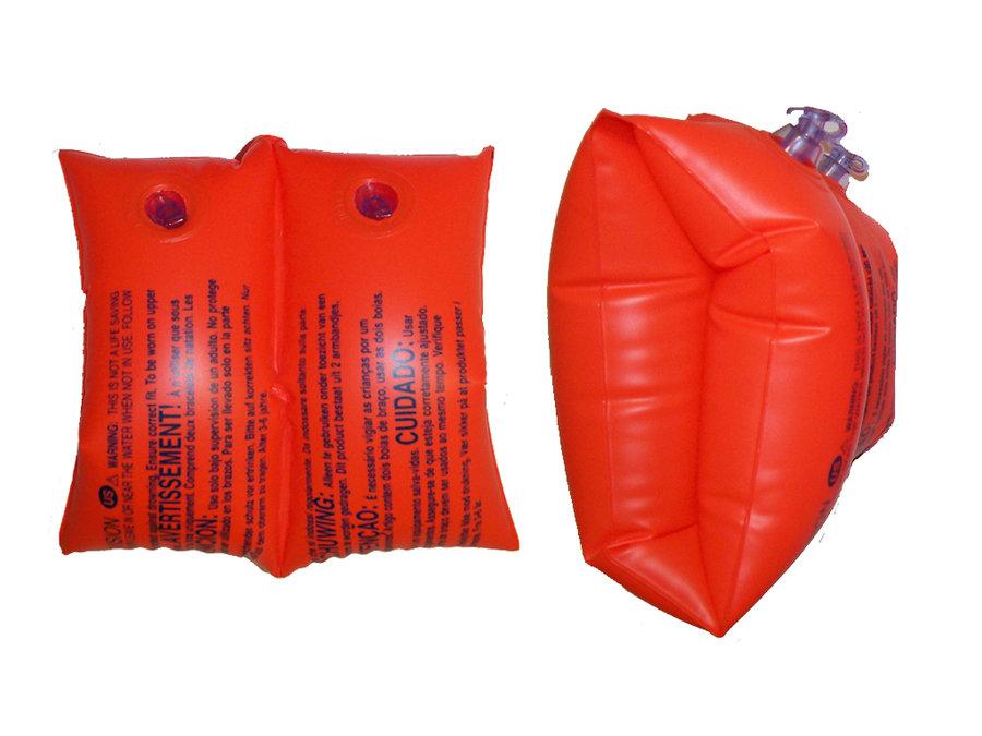 Červené dětské nafukovací plavecké rukávky Large 59642, INTEX