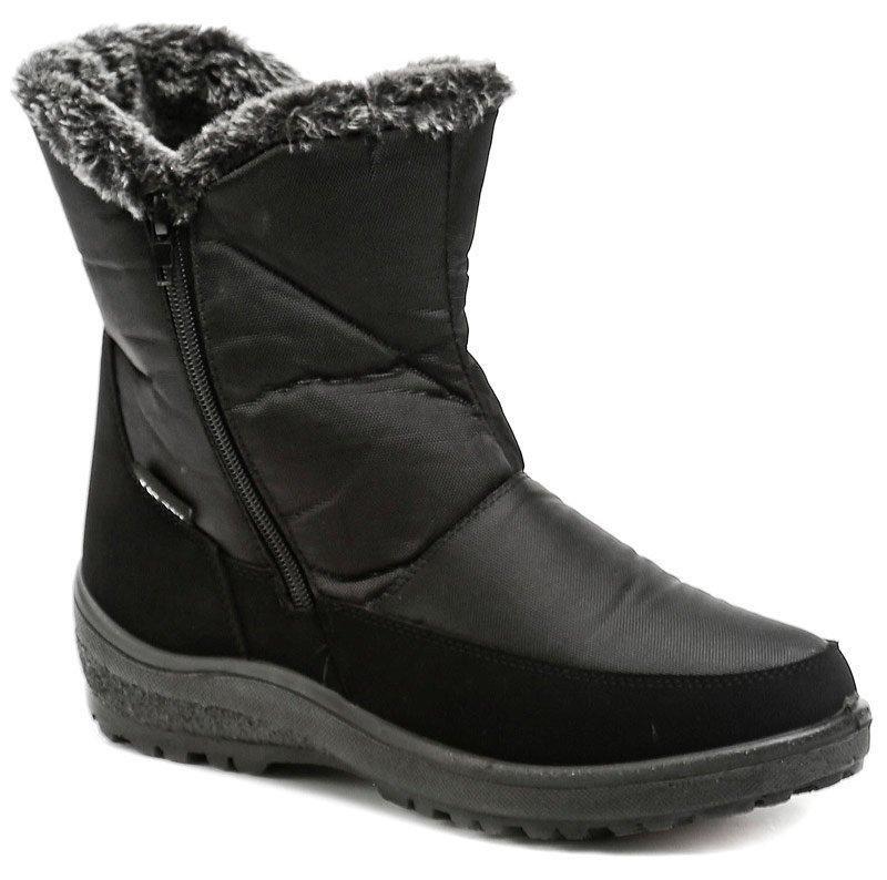 Černé dámské zimní boty Scandi - velikost 36 EU