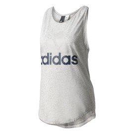Šedé dámské tílko Adidas - velikost L