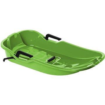 Zelené dětské boby s brzdami Hamax
