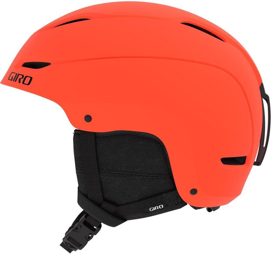 Oranžová dámská helma na snowboard Giro - velikost L