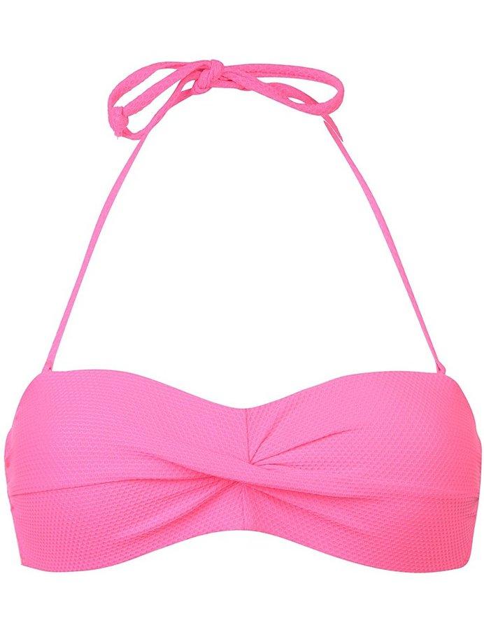 Růžové plavky - vrchní díl Joe Boxer - velikost S