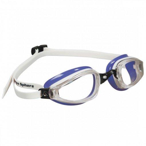 Bílo-fialové plavecké brýle K180 Lady, Michael Phelps