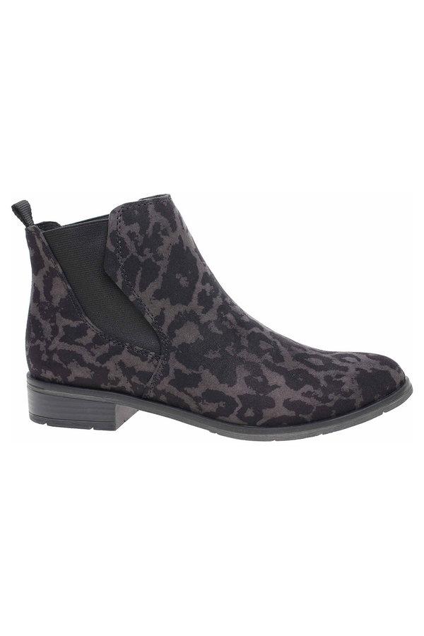 Šedé dámské zimní boty Marco Tozzi