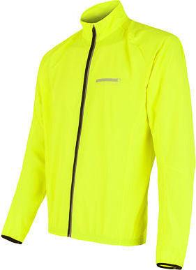 Žlutá pánská cyklistická bunda Sensor - velikost S