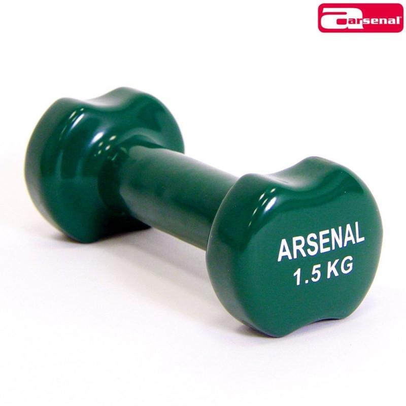 Jednoruční činka Arsenal - 1,5 kg - 2 ks