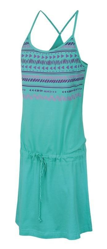 Tyrkysové dámské šaty Hannah