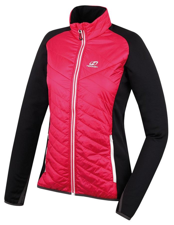 Černo-růžová zimní dámská bunda Hannah - velikost XS