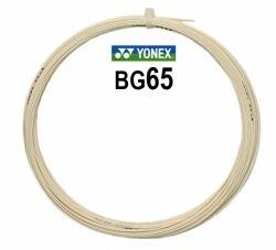 Badmintonový výplet BG65, Yonex - průměr 0,70 mm