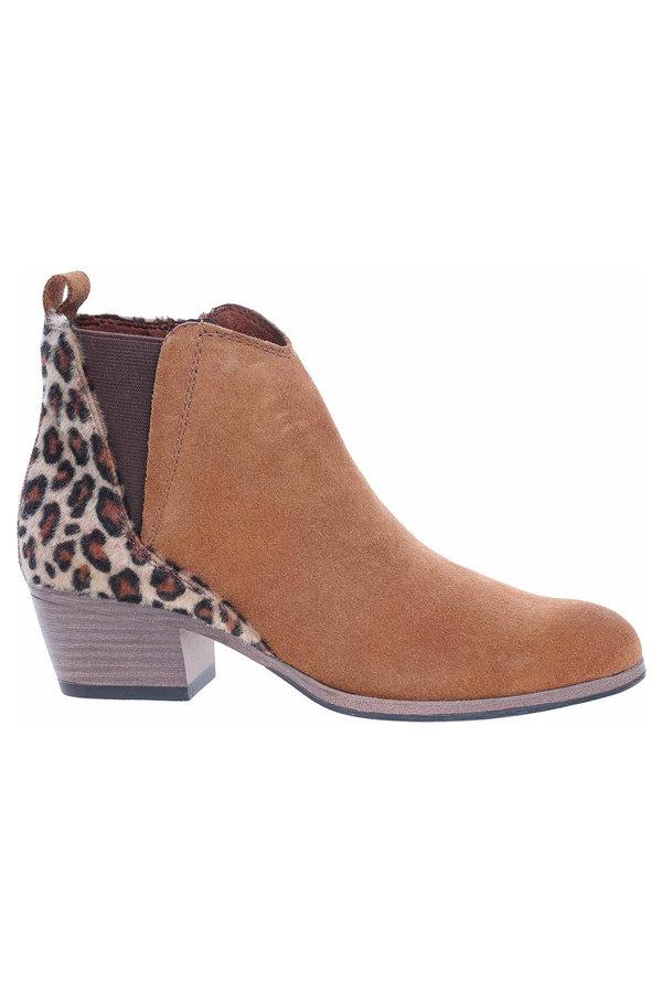 Hnědé dámské zimní boty Marco Tozzi
